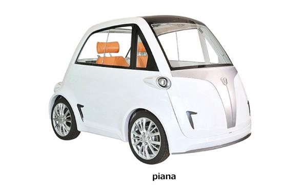水を入れるだけの「マグネシウム発電池」も搭載可能!超小型モビリティ「piana」