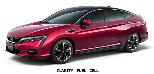 「CLARITY FUEL CELL」 ホンダ、市販する燃料電池車を公開