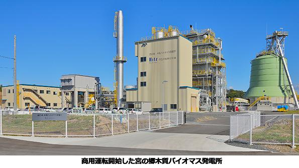 茨城県に5.7MWの木質バイオマス発電所が完成 約6.3万tの木質チップ使用
