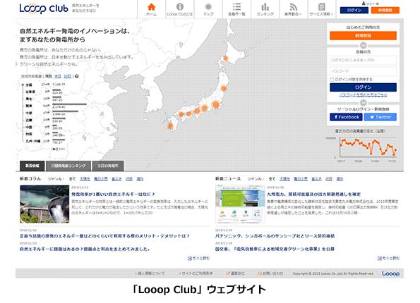Looop、太陽光発電所の発電量データをウェブ上で公開 他所と実績を比較可能