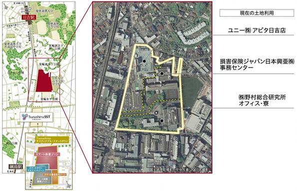 野村不動産など、横浜の綱島・日吉地区にスマートタウン形成へ