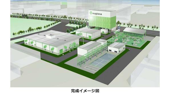 2020年にはミドリムシで飛行機が飛ぶ ユーグレナ、横浜に製造プラント建設へ