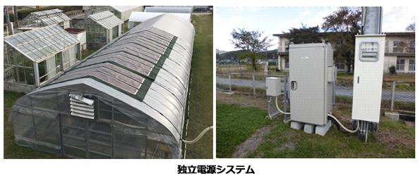 ビニールハウスに太陽光発電+蓄電池 地中熱なども利用し「化石燃料ゼロ」へ