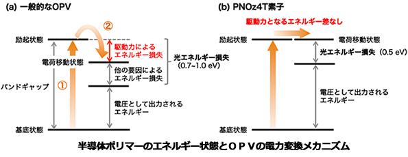 有機薄膜太陽電池の性能アップに役立つ半導体ポリマー 理研、京大が新開発