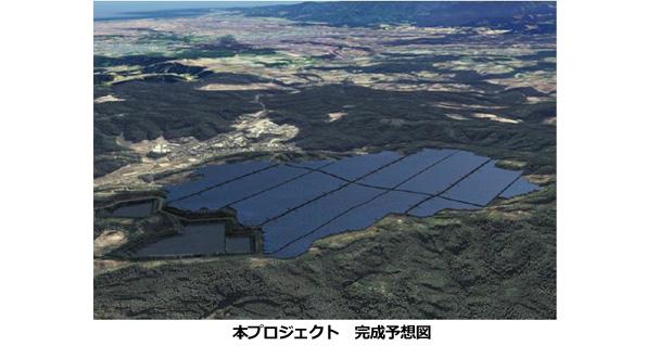 宮崎県で建設中の巨大メガソーラー(63MW)、トリナ・ソーラーの太陽電池採用