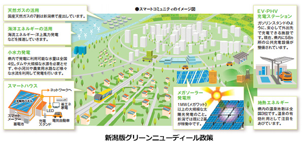 新潟県で洋上風力発電・海洋エネルギー発電のポテンシャル調査すすむ
