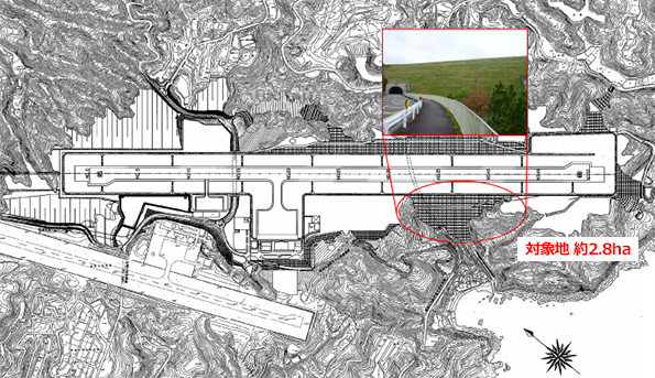 和歌山県、南紀白浜空港の滑走路脇を使いたい太陽光発電事業者を募集