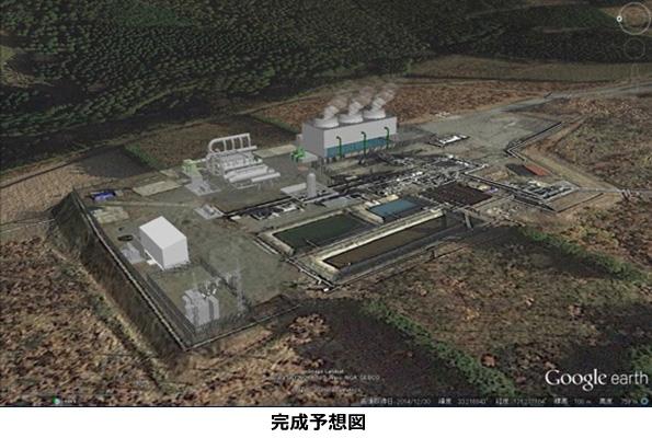 地熱発電所で余った熱水、地熱バイナリー発電に再利用 27MWに5MW追加