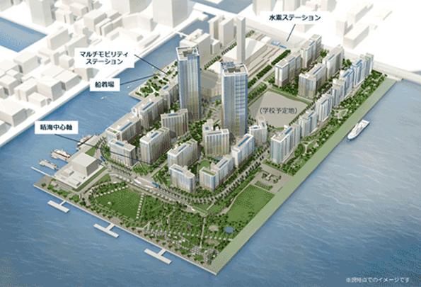 東京オリンピック選手村で水素利用 エネルギー事業化計画を立てる事業者募集