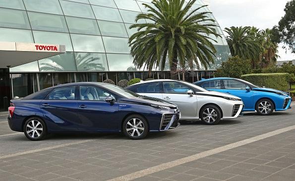 トヨタの燃料電池車「MIRAI」、オーストラリア進出 年末に水素ステーションも