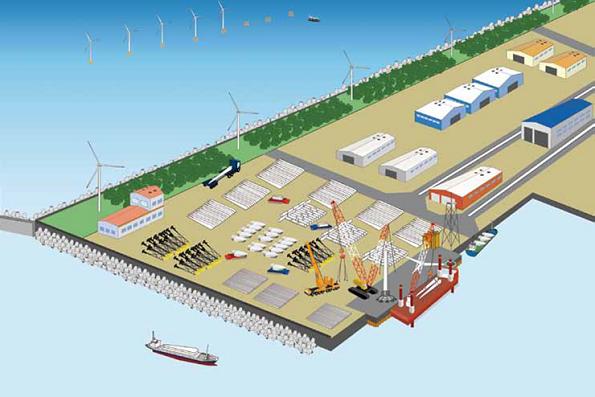 北九州市、響灘沖2,687haで洋上風力発電プロジェクト公募 港湾法改正後では初