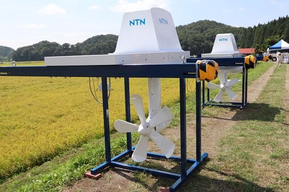 コンパクト・工事簡単な小水力発電システム 用水路などに直列設置も可能