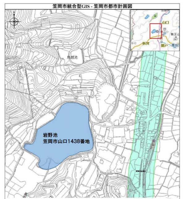岡山県笠岡市のため池に水上メガソーラー建設へ
