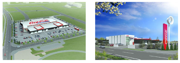 コカ・コーラの新しい営業所、最先端の再エネ・省エネ技術でBCP対策バッチリ