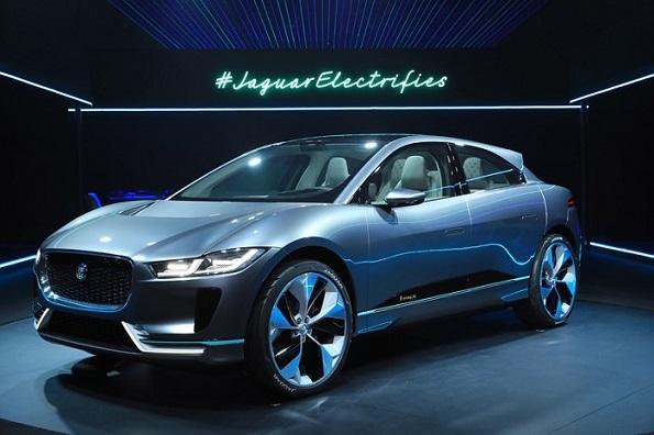 ジャガーも電気自動車を発表 コンセプトカー「I-PACE」