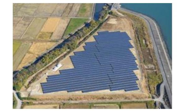 愛知県東浦町の太陽光発電所「東浦ソーラーウェイ」が完成