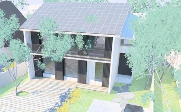 パッシブデザインを活かしたZEHが発売 屋根面で集めた太陽熱をうまく分配