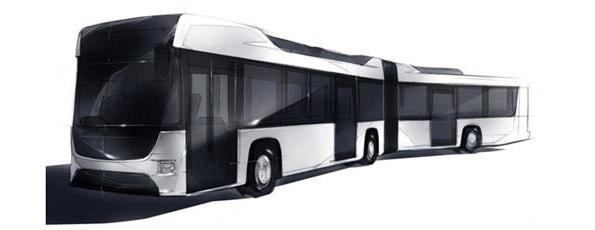 「連節バス」もハイブリッド車に いすゞ・日野が共同開発へ