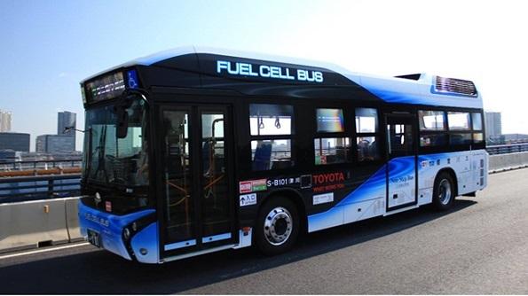 3月から「燃料電池バス」運行開始 東京オリンピックに向け100台導入