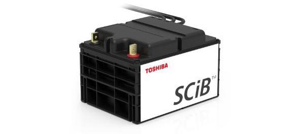 東芝の新しいSCiB産業用リチウムイオン蓄電池、約20分で充電可能