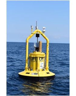 三井造船、波力発電の実証実験スタート 設置面積の小さい「機械式」