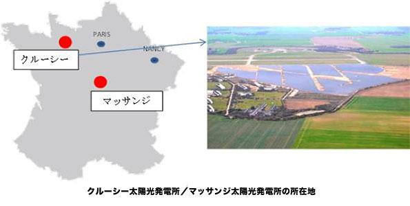 三菱商事、フランスで2カ所の太陽光発電所に50%出資、発電規模は計56MW