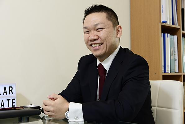 ソーラークリエート 代表取締役 平間 拓氏