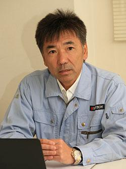 サンテックパワージャパン株式会社 商品管理本部商品技術・開発グループグループマネージャー 中沢 勉氏