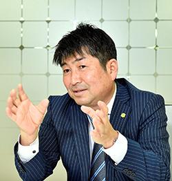 株式会社グリーンシステムコーポレーション代表取締役 阿久津昌弘氏