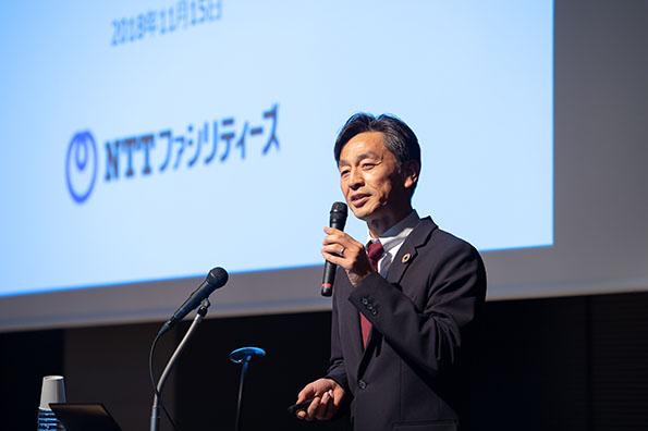 NTTファシリティーズ ソリューション本部スマートエネルギー部課長 平形直人