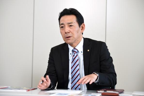京セラコミュニケーションシステム 環境エネルギー営業部東日本営業課責任者 徳永保之氏