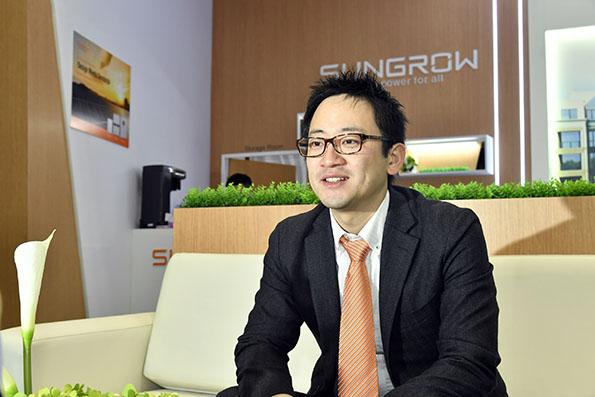 SUNGROW JAPAN 代表取締役 趙 天工氏