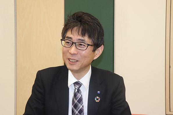 浜松いわた信用金庫 SDGs推進部 地方創生戦略推進室 調査役 竹内嘉邦(Yoshikuni Takeuchi)