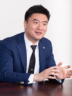 リープトンエナジー株式会社 代表取締役社長 周 鳴飛氏