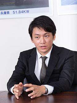 株式会社 尾賀亀 専務取締役 尾賀健太朗氏