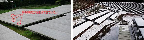 高精細カメラによる監視は、発電を阻害する雑草や積雪対策にも有効。適切なタイミングで対応することができる