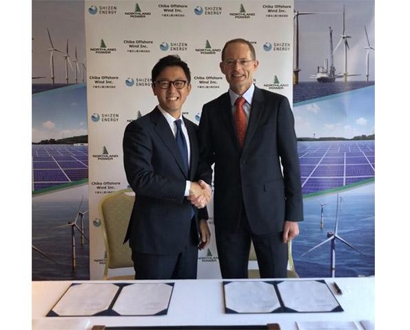 洋上風力開発でカナダ企業と自然電力が協業