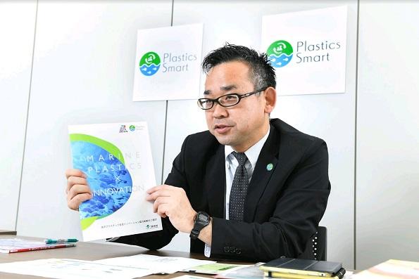 環境省 環境再生・資源循環局 総務課 リサイクル推進室長 冨安氏
