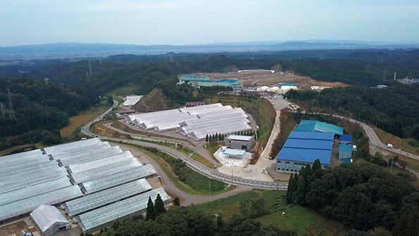 富山環境整備の全景