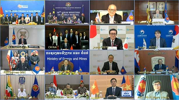 ASEAN+3 Energy Ministers' Meeting (Source: Ministry of Economy, Trade and Industry)