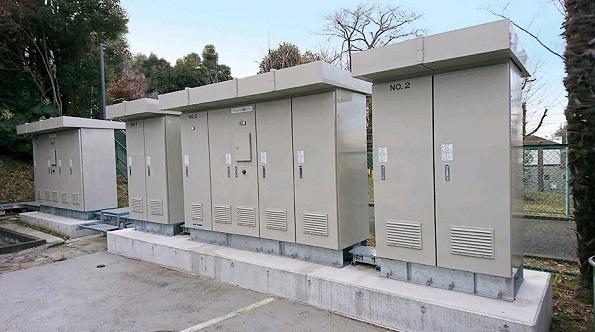 公共・産業用蓄電システム設置事例