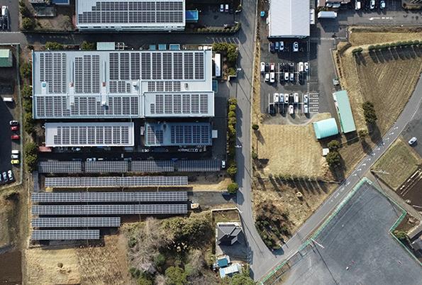 ハウスプロデュースが手掛ける自家消費発電システム。事業所のエネルギー使用量や目的に応じて最適な太陽光導入を提案