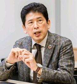 網岡 健司 氏 八幡東田まちづくり連絡会会長 紙の循環から始める地域 共創プロジェクト 推進フォーラム 代表