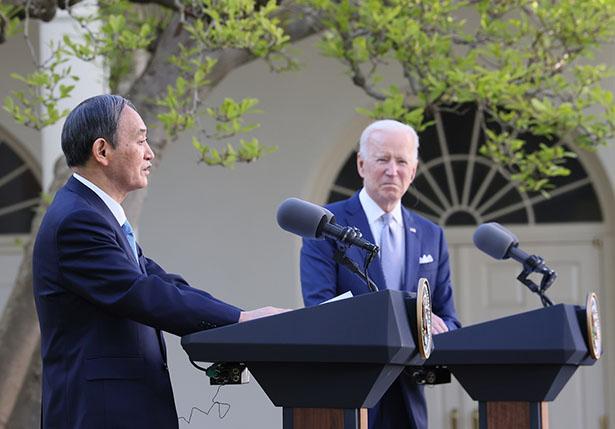 日米首脳会談、気候変動分野の協力強化で一致