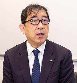 豊田通商 グローバル部品・ロジスティクス本部COO 堀崎 太 氏