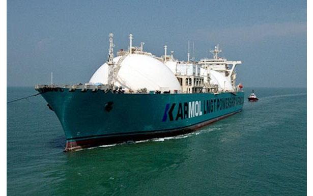 商船三井のFSRU、セネガルに到着 LNG発電事業が本格化