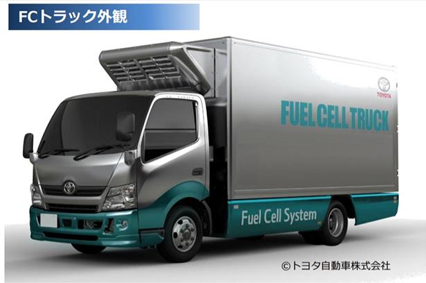 福岡県、トヨタのFCトラックで輸送実証 市販化・普及も後押し